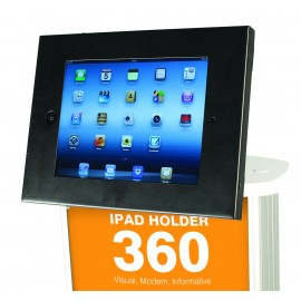 Support Ipad 360° - Table ou mur - Noir